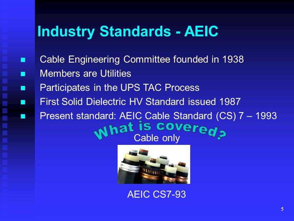 Industry Standards - AEIC