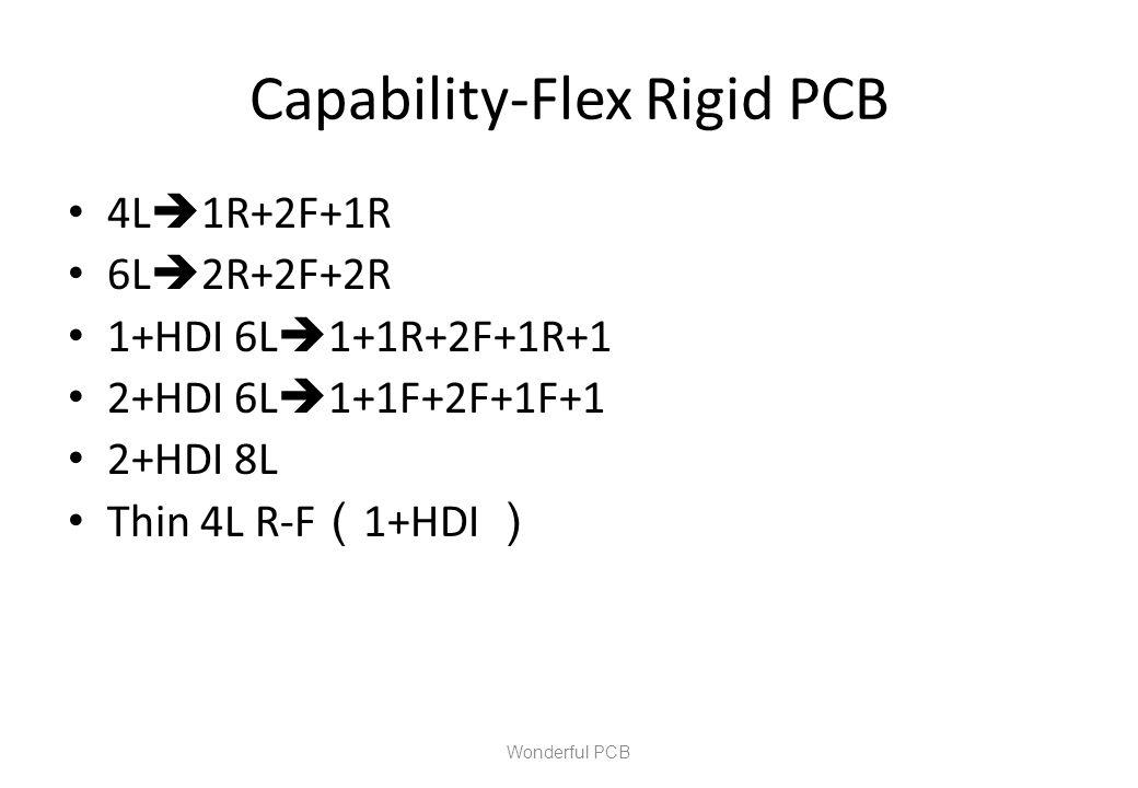 Capability-Flex Rigid PCB