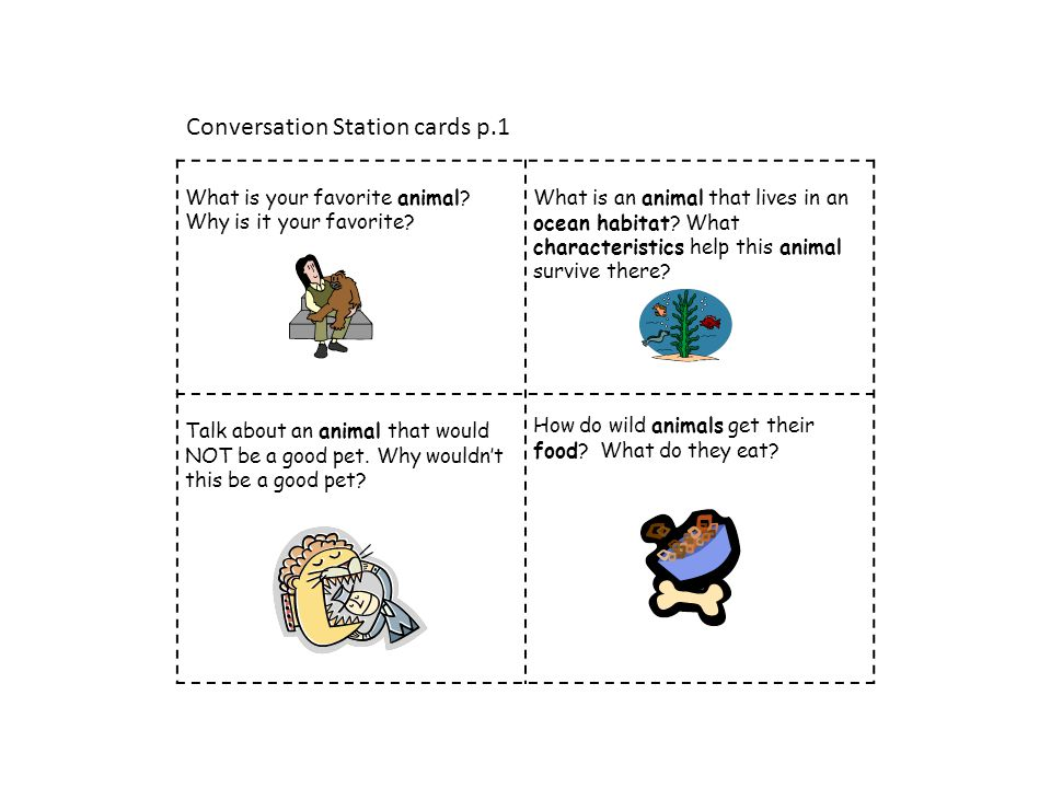 Conversation Station cards p.1