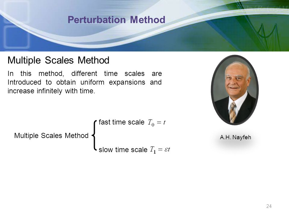 Multiple Scales Method