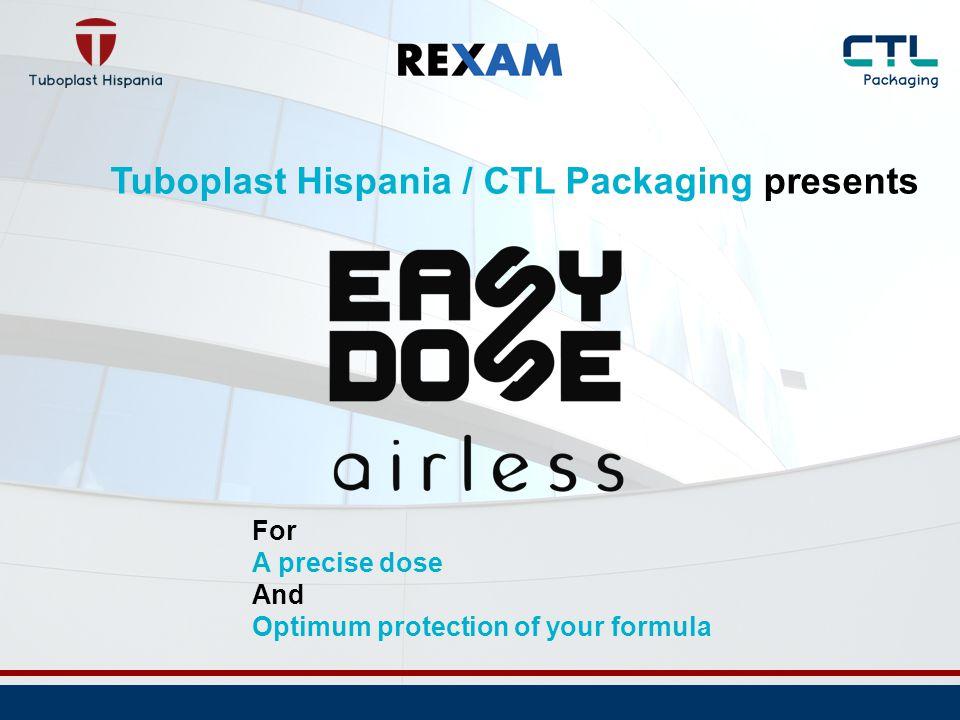 Tuboplast Hispania / CTL Packaging presents