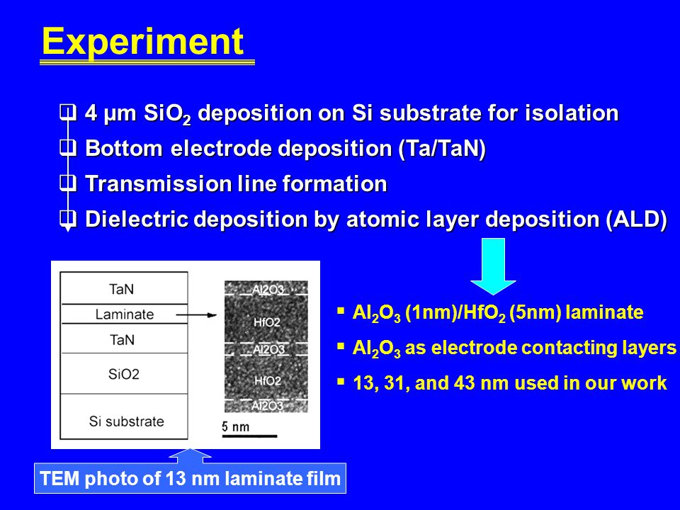 TEM photo of 13 nm laminate film