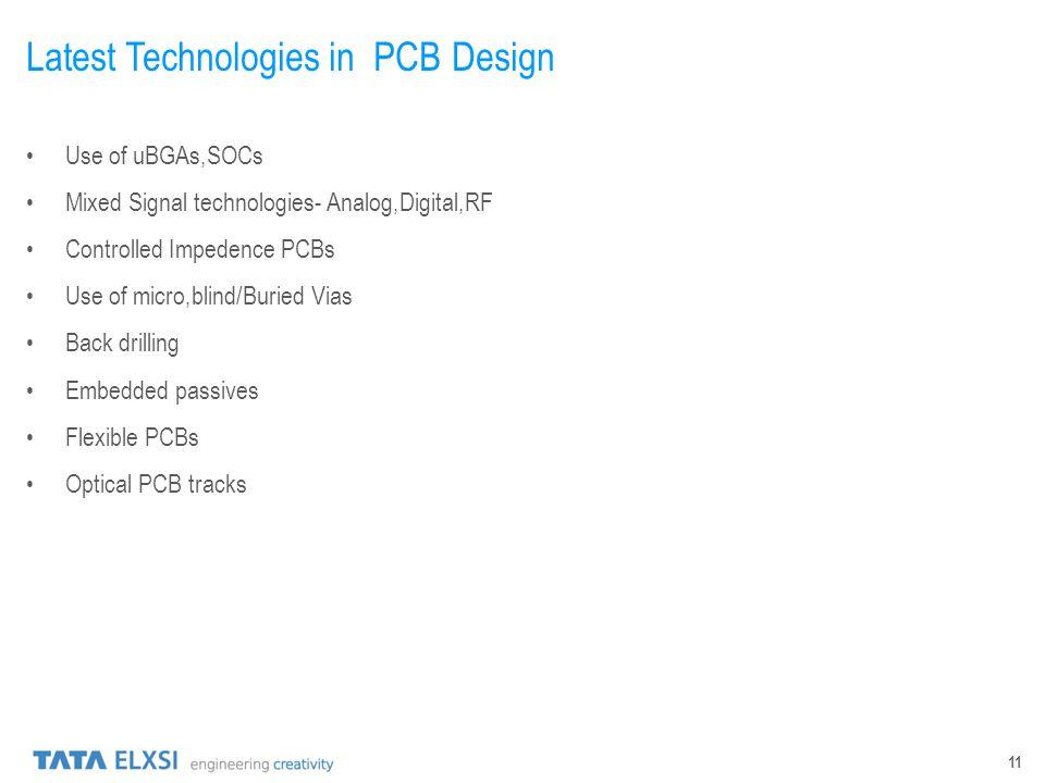 Latest Technologies in PCB Design