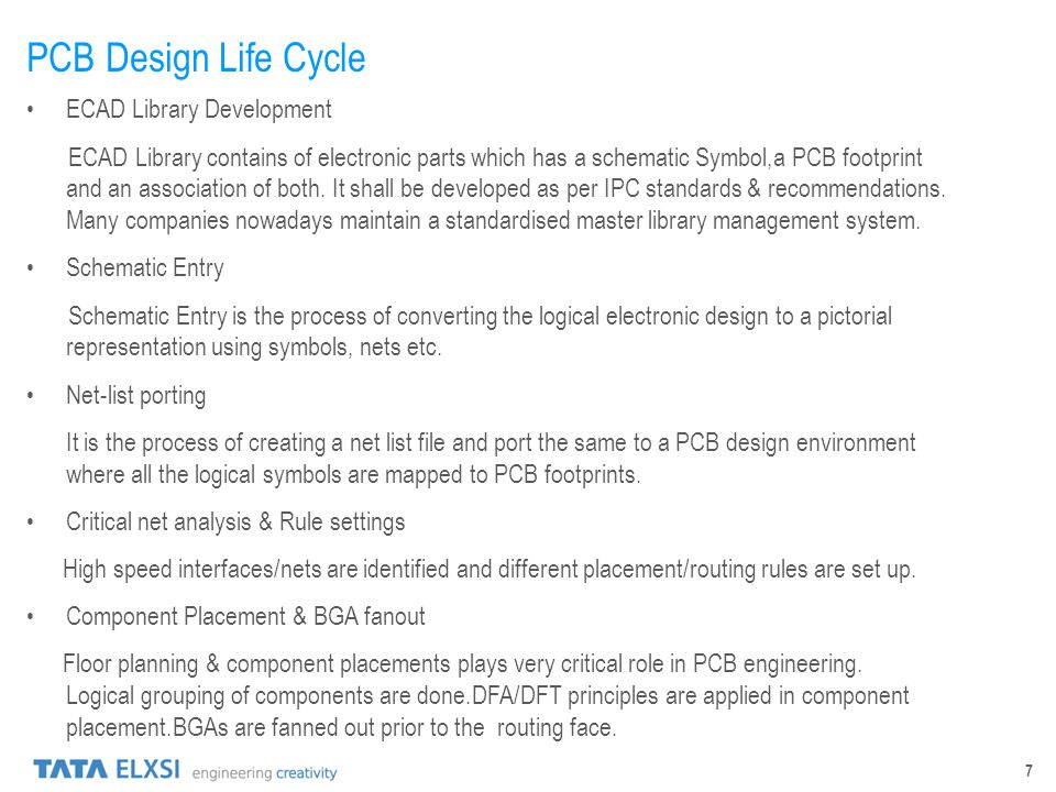 PCB Design Life Cycle ECAD Library Development