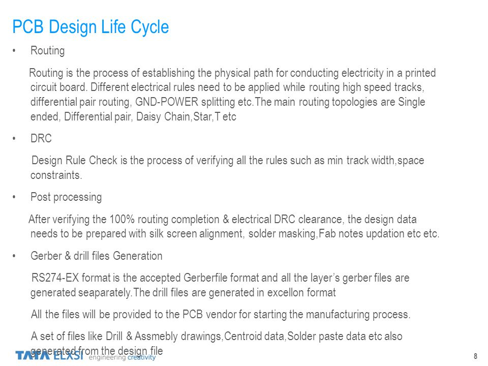 PCB Design Life Cycle Routing
