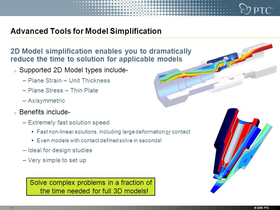 Advanced Tools for Model Simplification