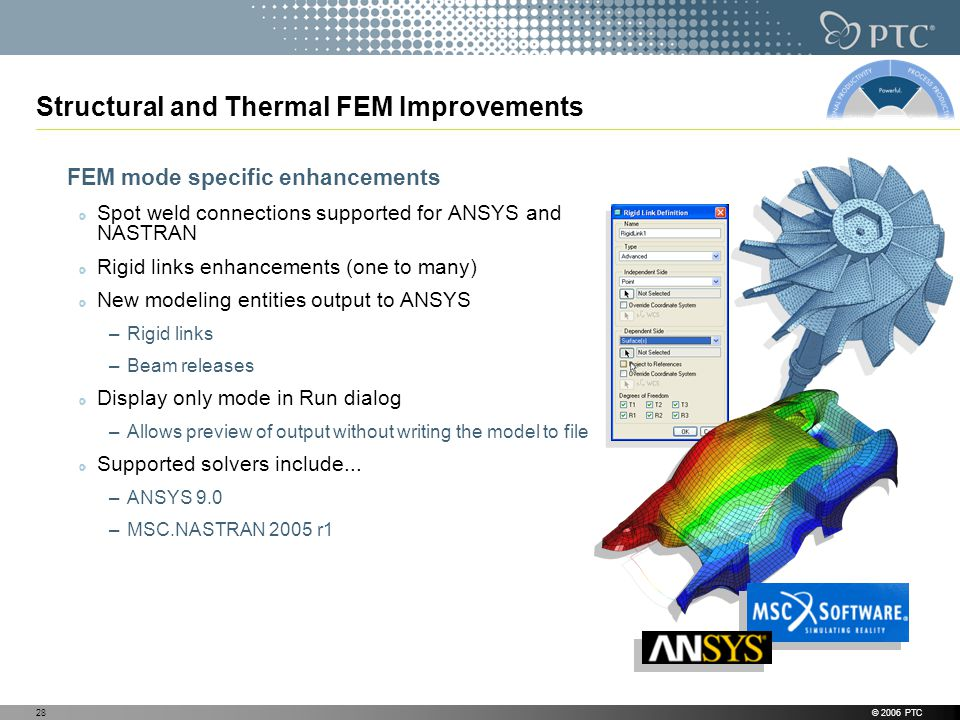 Structural and Thermal FEM Improvements