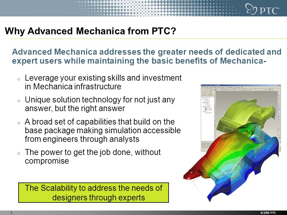 Why Advanced Mechanica from PTC