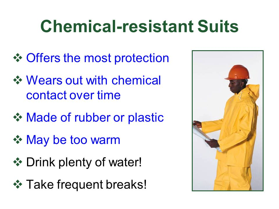 Chemical-resistant Suits
