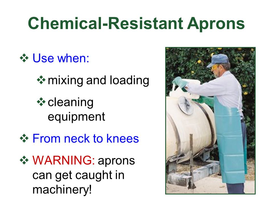 Chemical-Resistant Aprons