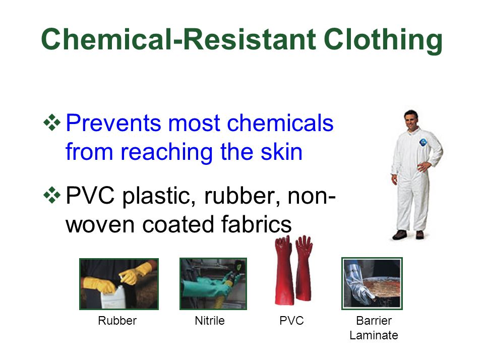 Chemical-Resistant Clothing