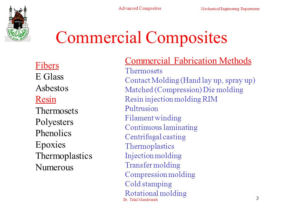Commercial Composites