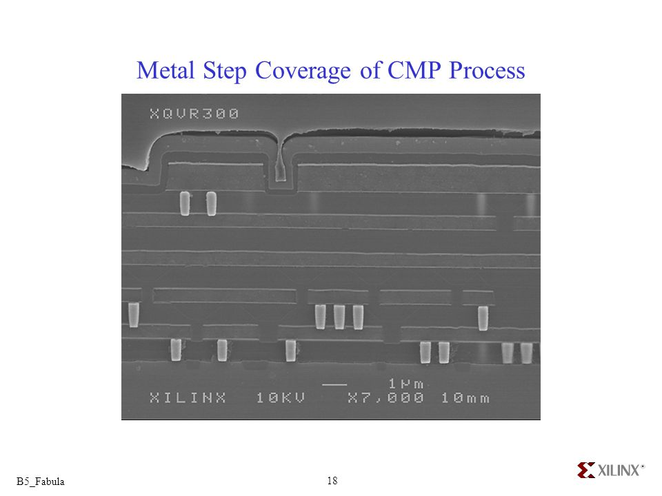 Metal Step Coverage of CMP Process
