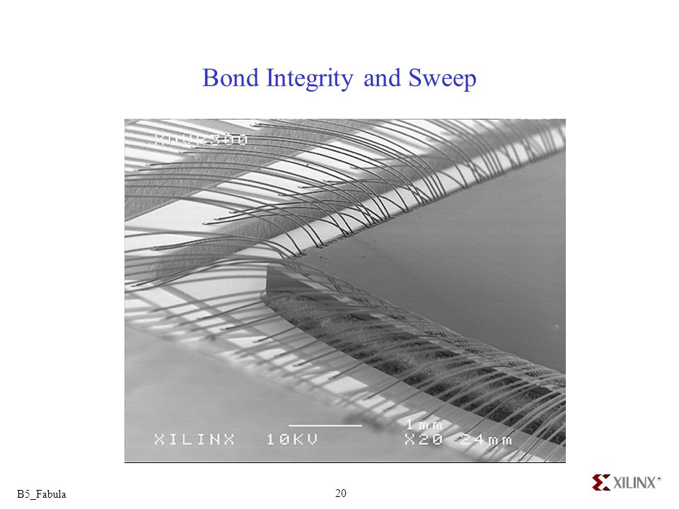 Bond Integrity and Sweep