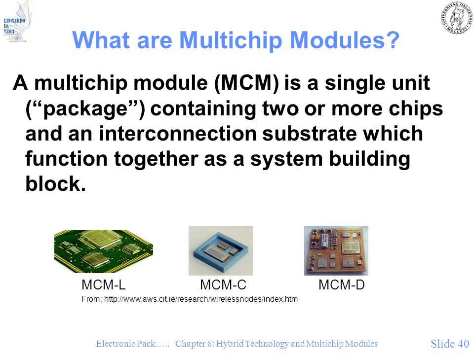 What are Multichip Modules