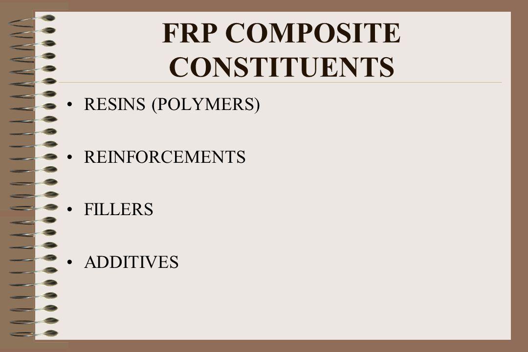 FRP COMPOSITE CONSTITUENTS