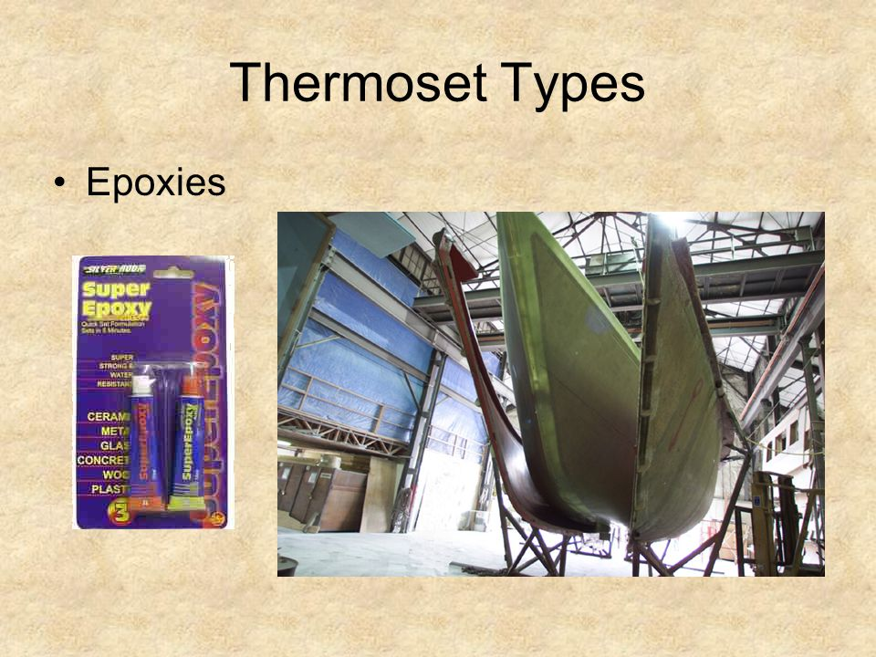 Thermoset Types Epoxies