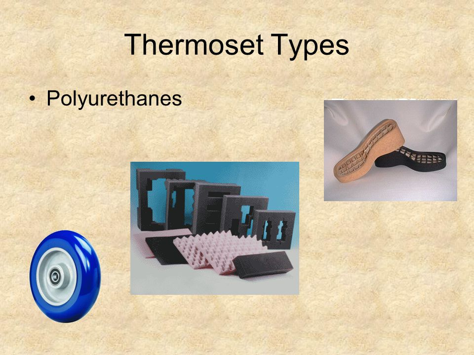 Thermoset Types Polyurethanes