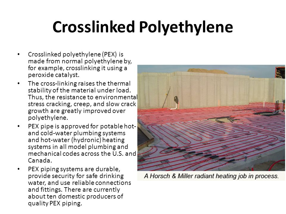 Crosslinked Polyethylene