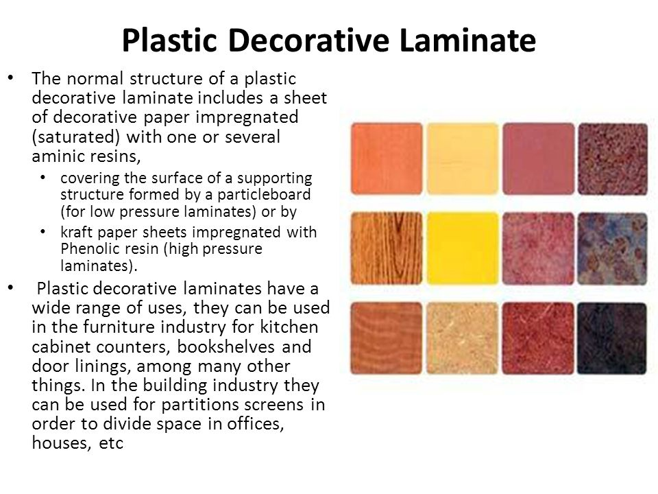 Plastic Decorative Laminate