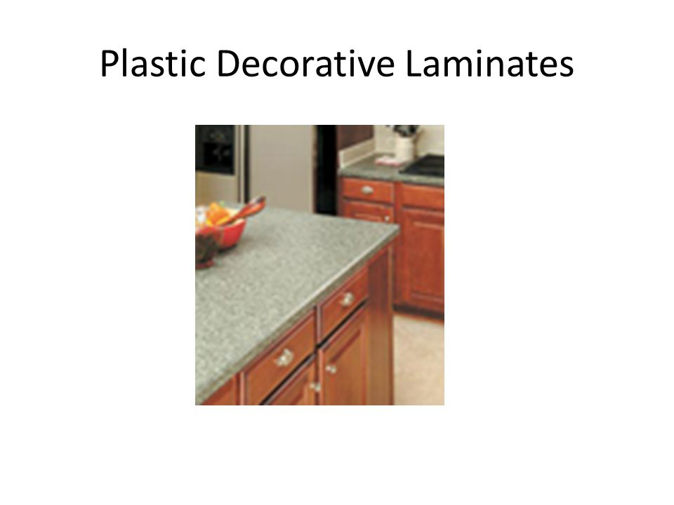 Plastic Decorative Laminates