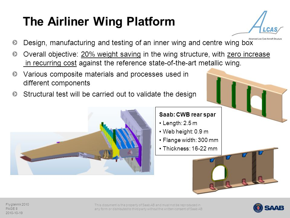 The Airliner Wing Platform