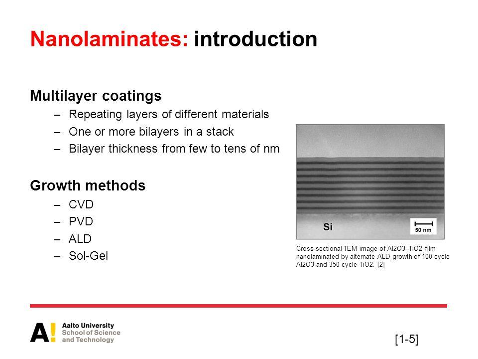 Nanolaminates: introduction
