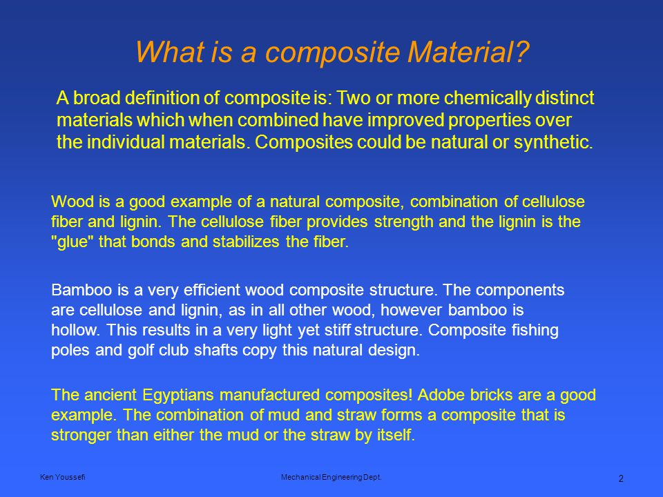 What is a composite Material