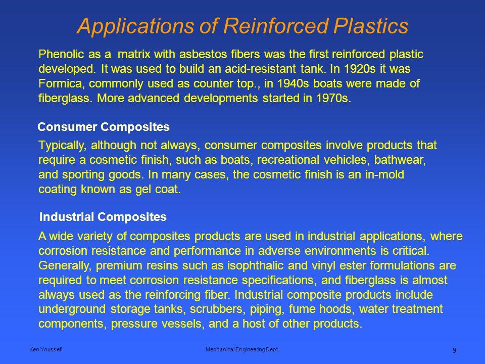 Applications of Reinforced Plastics