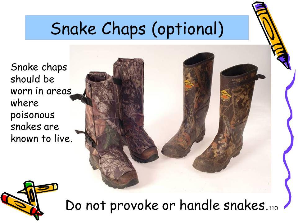 Snake Chaps (optional)