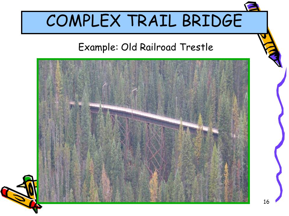 Example: Old Railroad Trestle