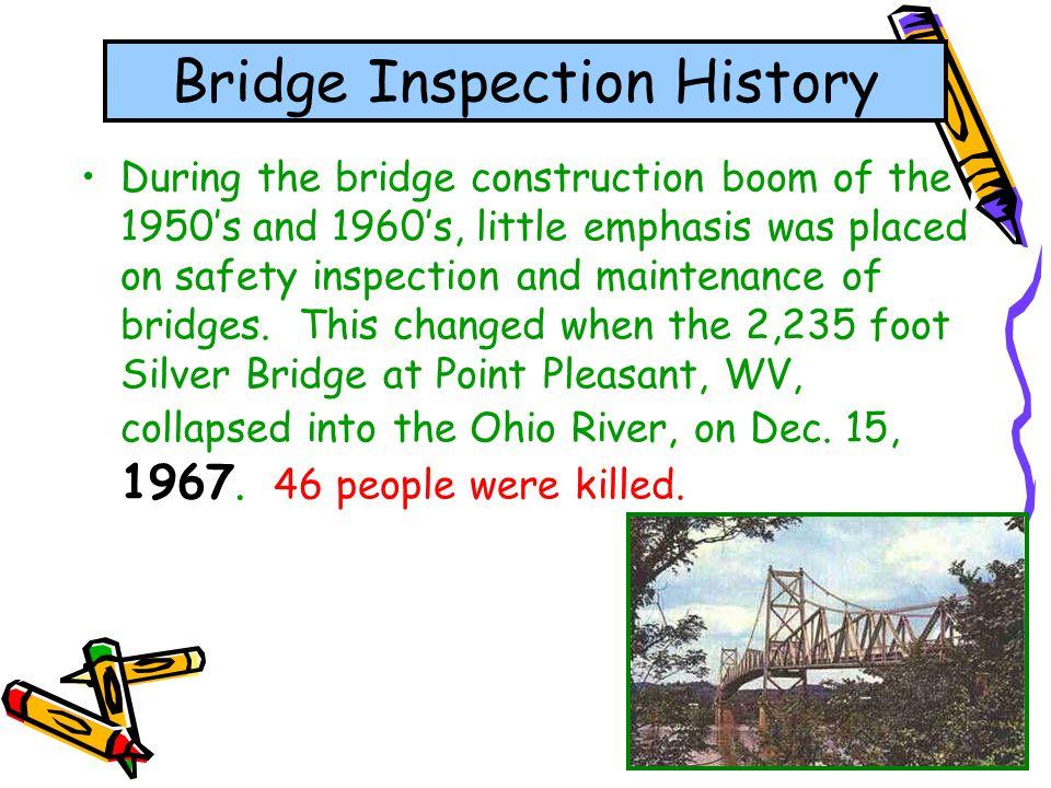 Bridge Inspection History