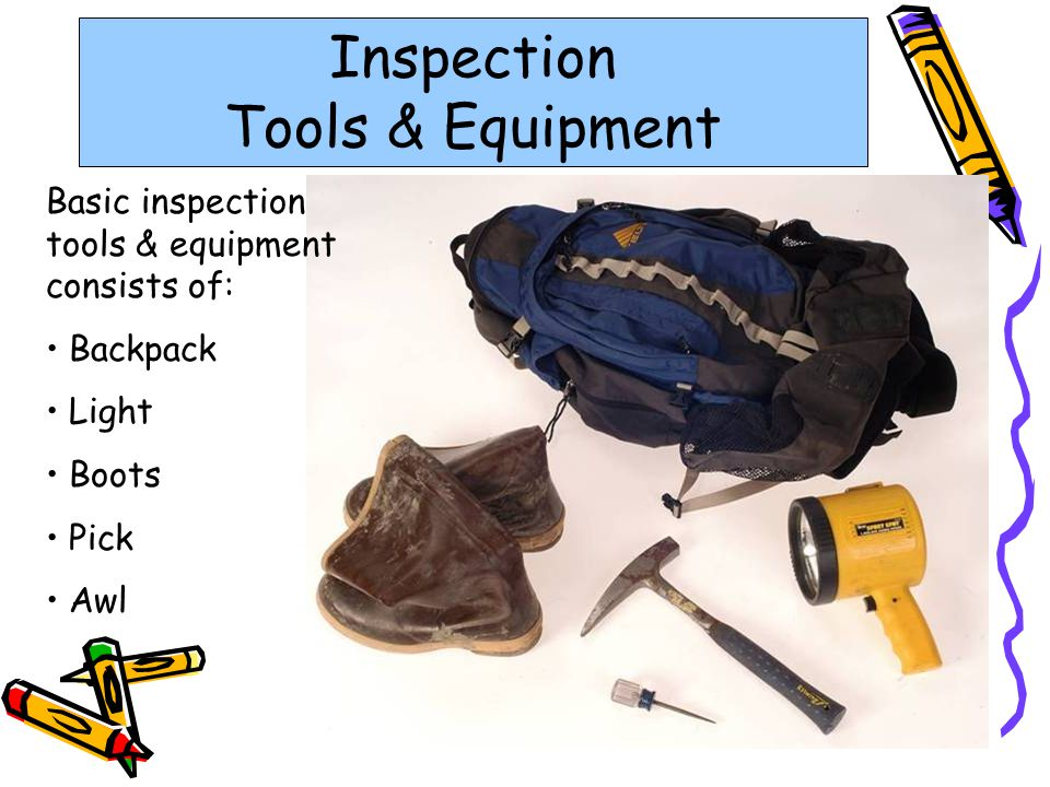 Inspection Tools & Equipment