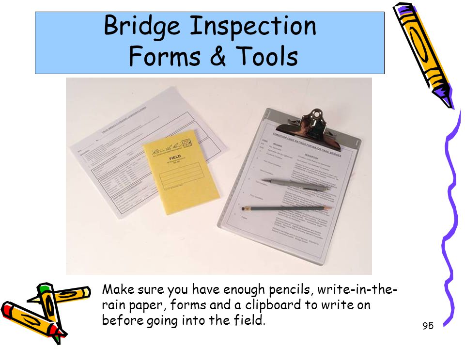 Bridge Inspection Forms & Tools
