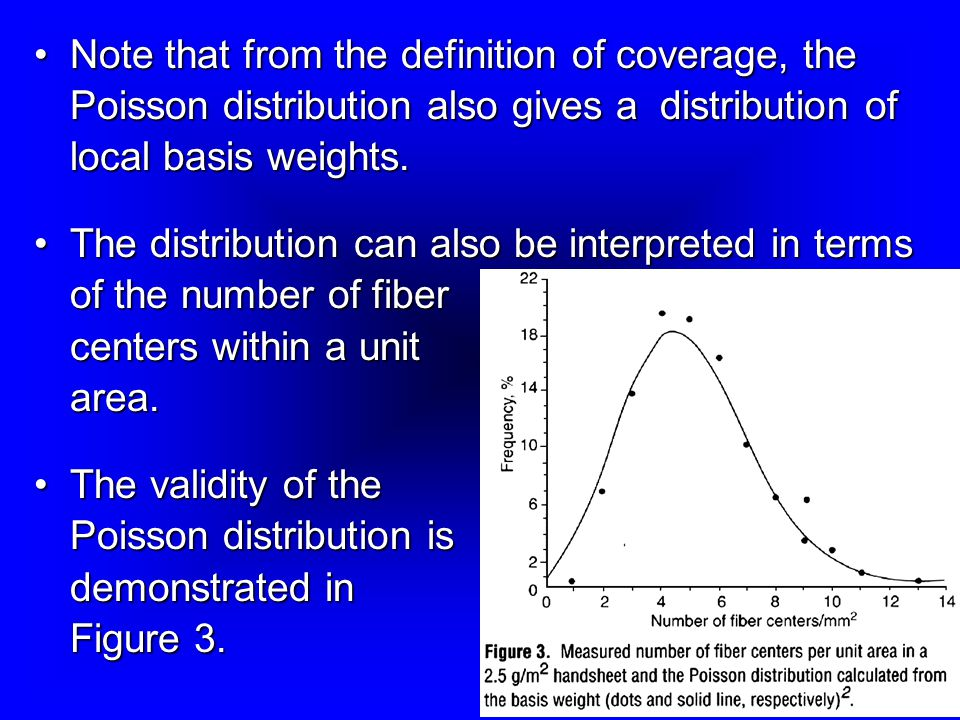 Note that from the definition of coverage, the Poisson distribution also gives a distribution of local basis weights.