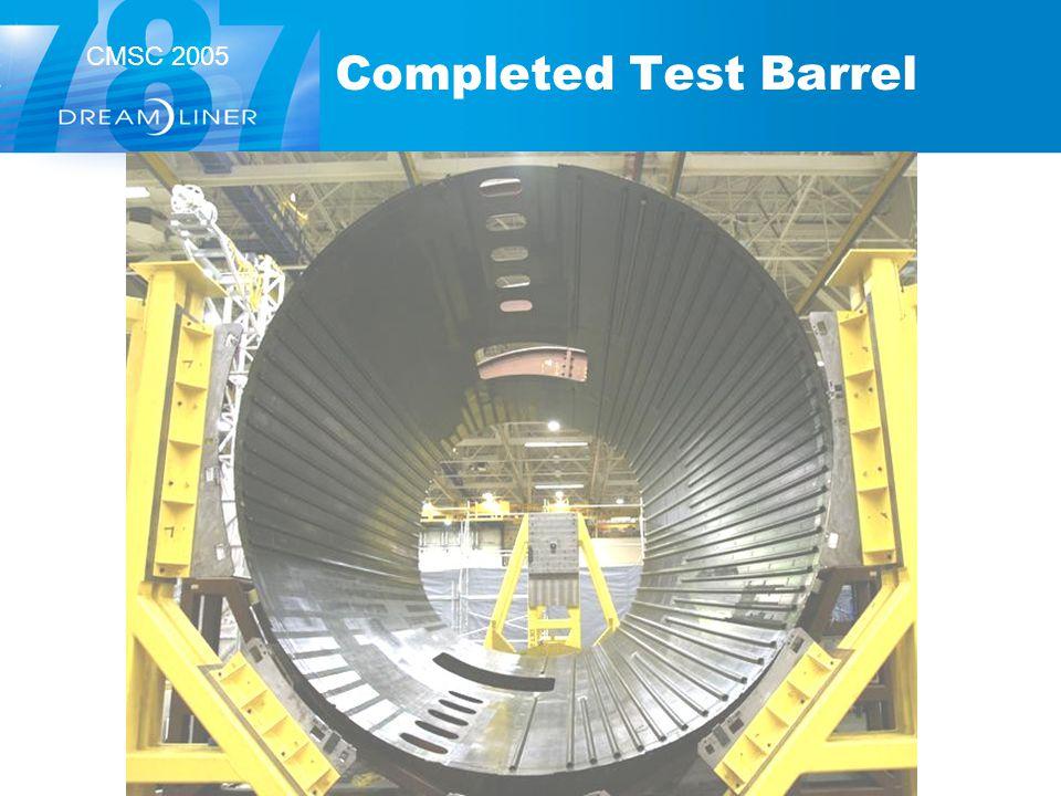 Completed Test Barrel