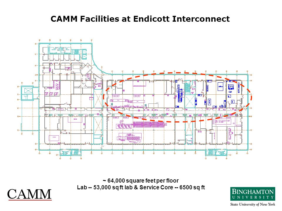 CAMM Facilities at Endicott Interconnect