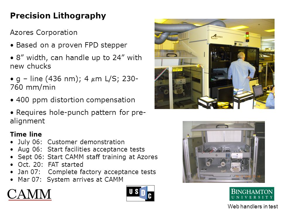 Precision Lithography