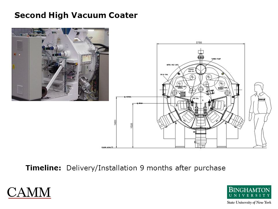 Second High Vacuum Coater
