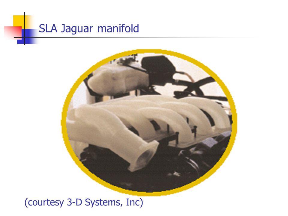 SLA Jaguar manifold (courtesy 3-D Systems, Inc)