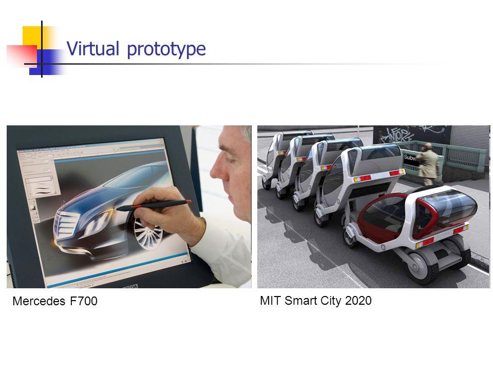 Virtual prototype Mercedes F700 MIT Smart City 2020