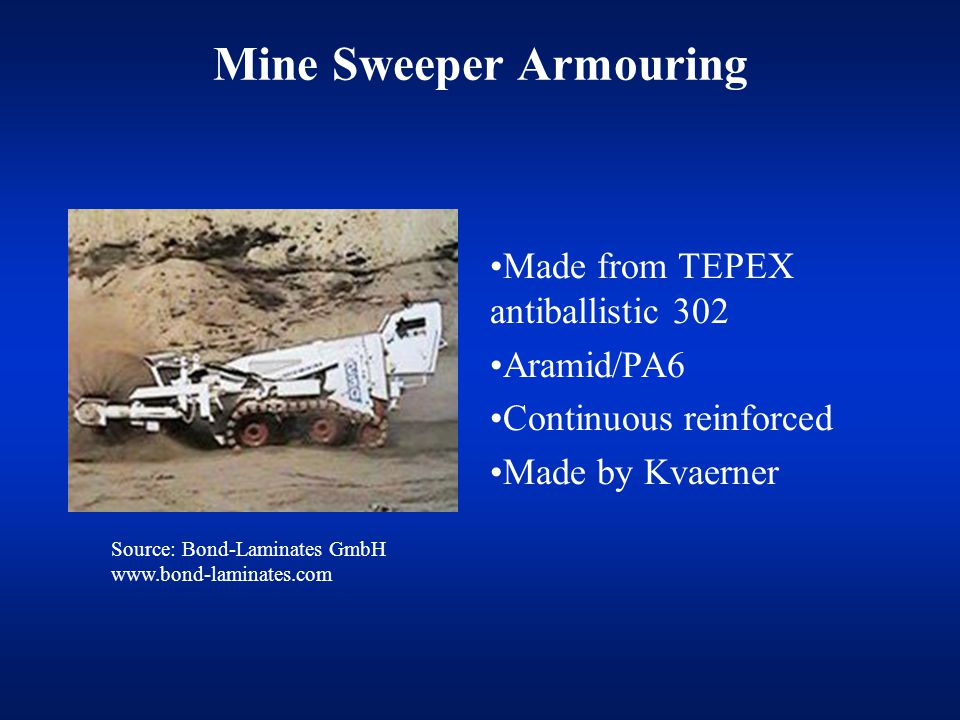 Mine Sweeper Armouring
