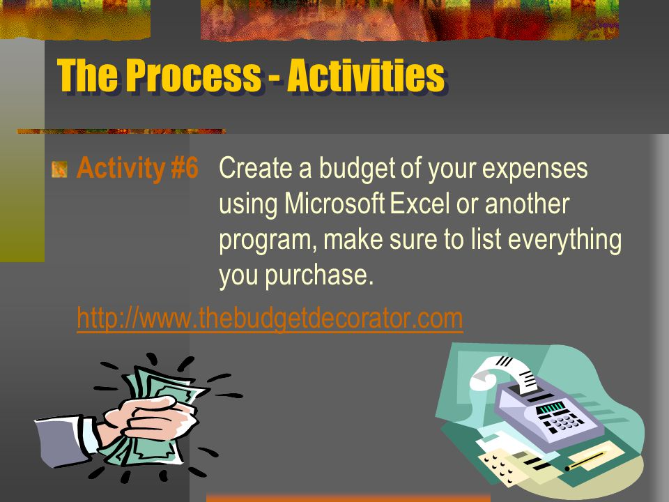 The Process - Activities