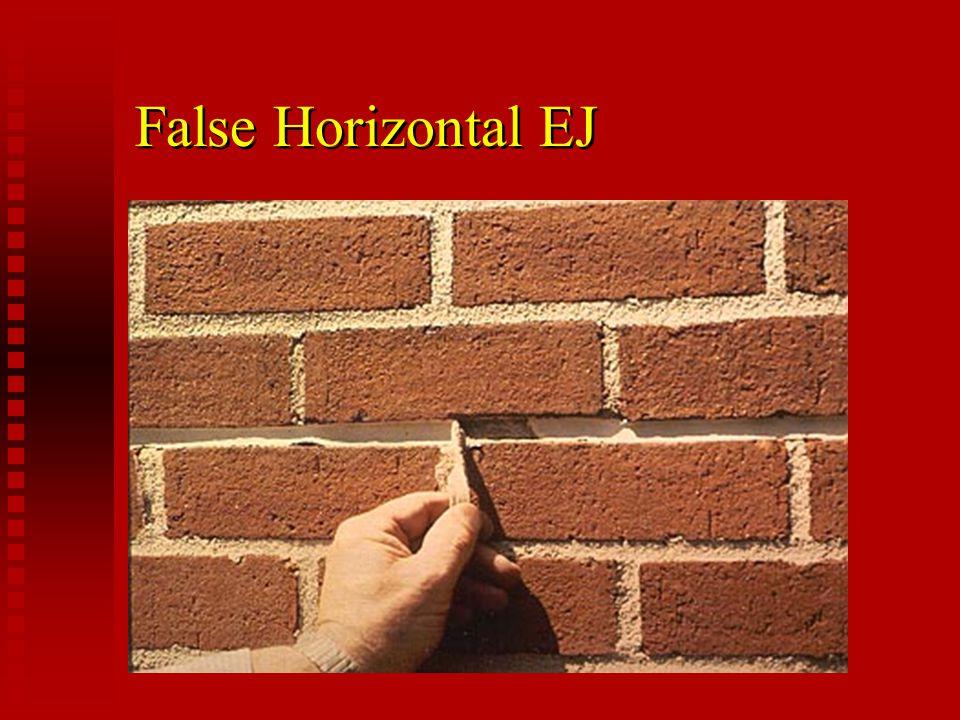 False Horizontal EJ