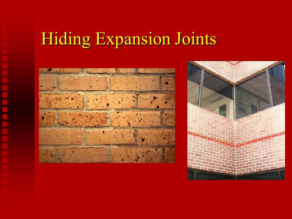 Hiding Expansion Joints
