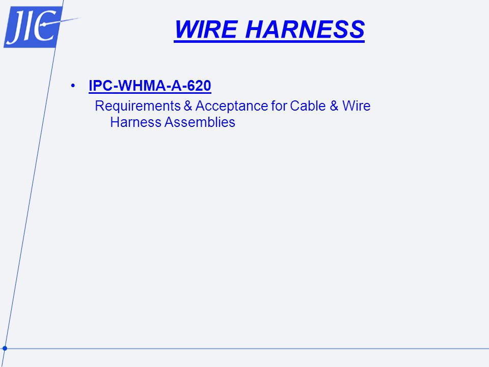 WIRE HARNESS IPC-WHMA-A-620