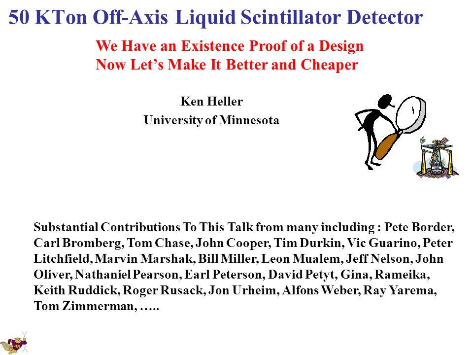 50 KTon Off-Axis Liquid Scintillator Detector