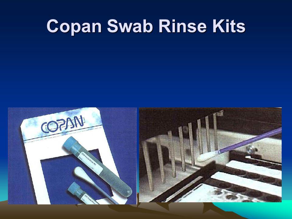 Copan Swab Rinse Kits