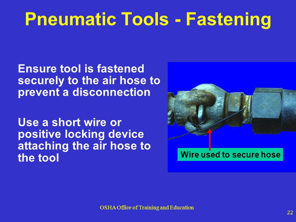Pneumatic Tools - Fastening