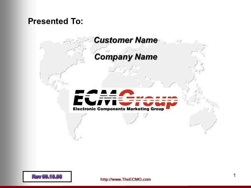 Presented To: Customer Name Company Name